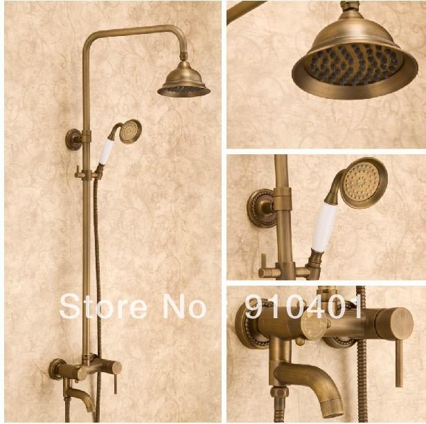 Antique Brass Shower Decorative Kitchen Cabinet Hardware Handle Pulls Cabi