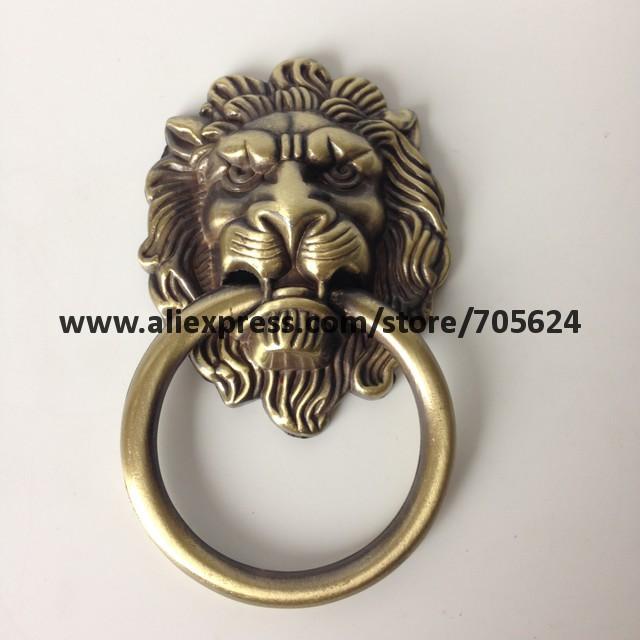 128mm Antique brass door handles and knobs/ drawer pulls &knobs ...