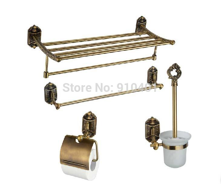 wholesale and retail promotion antique bronze bathroom accessories 4