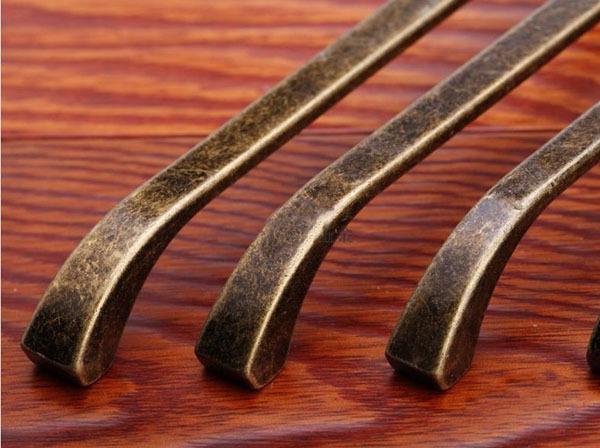 10pcslot antique brass european zinc alloy cabinet drawer pulls furniture handles cc