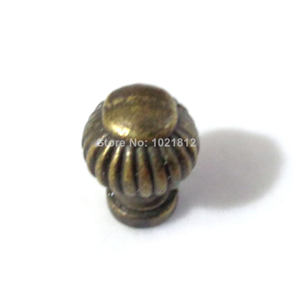14mm Bronze Little Cabinet Knobs Handles Pulls Drawer