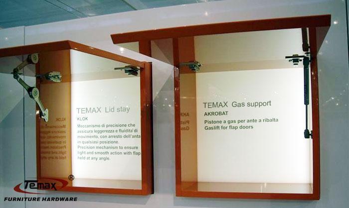2x 100N Hydraulic Gas Strut Lift Support Kitchen Cabinet ...