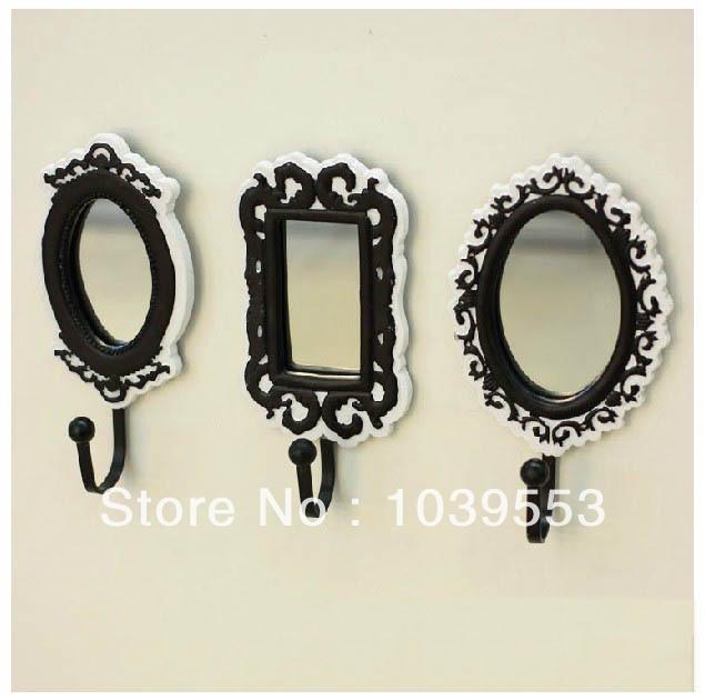 3pcs Fashion Mirror Modern Home Decoration Creative Coat