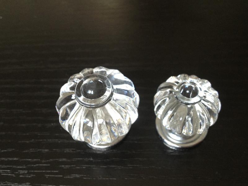 Chrome Door Knobs >> 10pcs Acrylic Clear Pumpkin Crystal Round Drawer Knobs Kids Cartoon Cabinet Handles for Closet ...