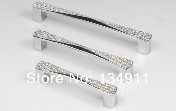Nice 10pcs K9 Crystal Super Light Cabinet Handle Imitation Diamond Crystal  Handles Drawer Pulls Knobs Glass Furniture
