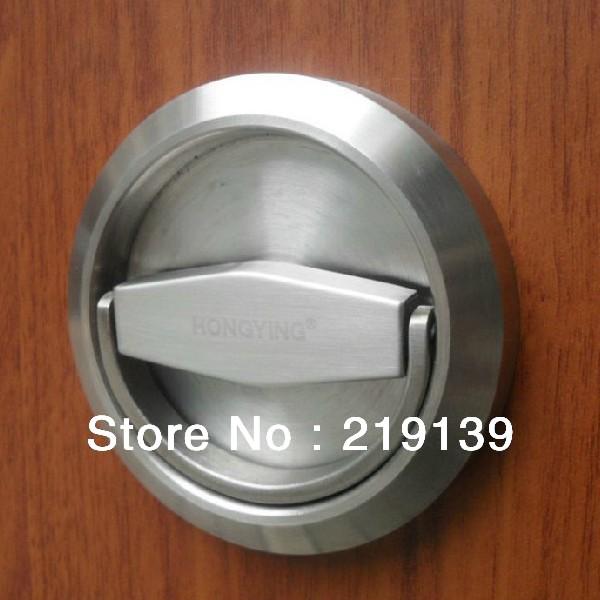 Stainless Steel Furniture Cabinet Recessed Cup Door Handle