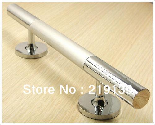 Mordern European Classics Wood Metal Zinc Alloy Big Wooden Grand Glass Door  Handle Pull Door Handles