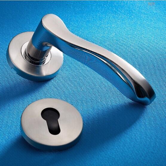 European style fission lock Indoor stainless steel door lock the ...