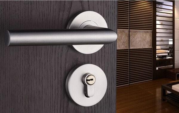 Modern Fashion Indoor Stainless Steel Door Lock The