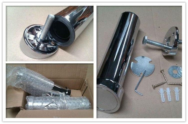 Furniture Legs Brushed Nickel chrome-plating/brushed nickel furniture bar table legs&oblique