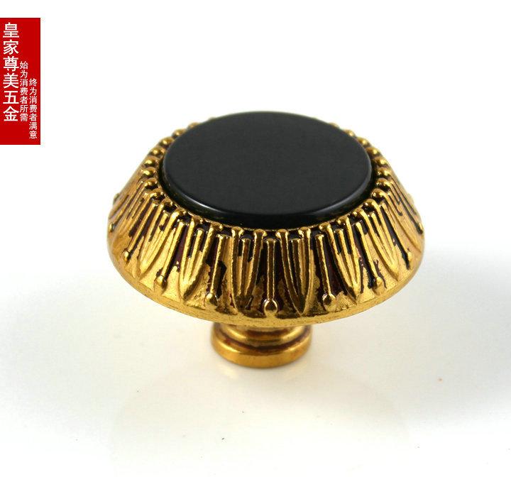 Gold Luxury Elegant 128mm Furniture Hardware Handles Door Knob Drawer Wardrobe Kitchen Cabinets