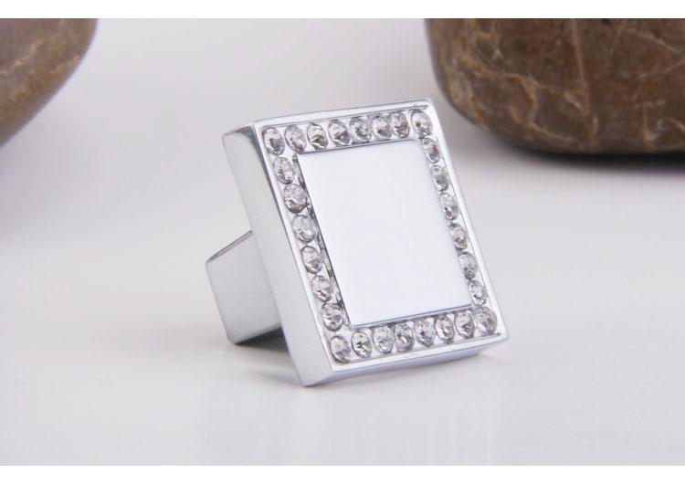 Modern K9 Crystal Led Bathroom Make Up Mirror Light Cool: 10Pcs Cheap K9 Crystal Glass Chrome Cabinet Knobs Door