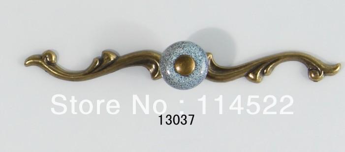 New Design Antique Brass And Ceramic Door Handles Kitchen Handles Knobs  Wardrobe Handles Closet Knob Cabinet