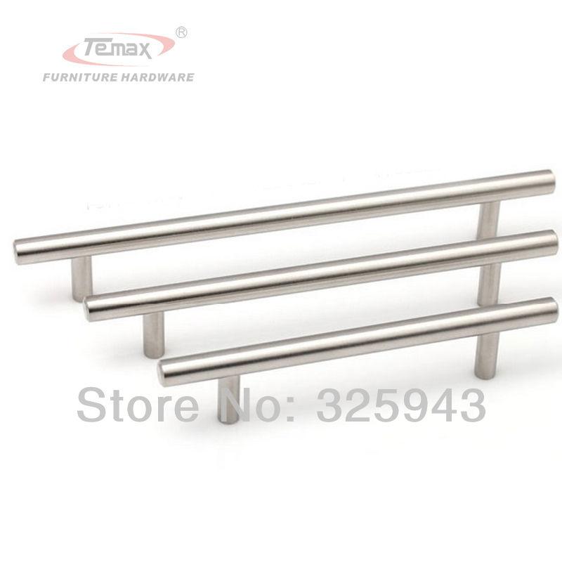 10pcs 128mm Furniture Hardware Dresser Drawer Pulls Stainless Steel Cabinet  Knobs Handles Kitchen