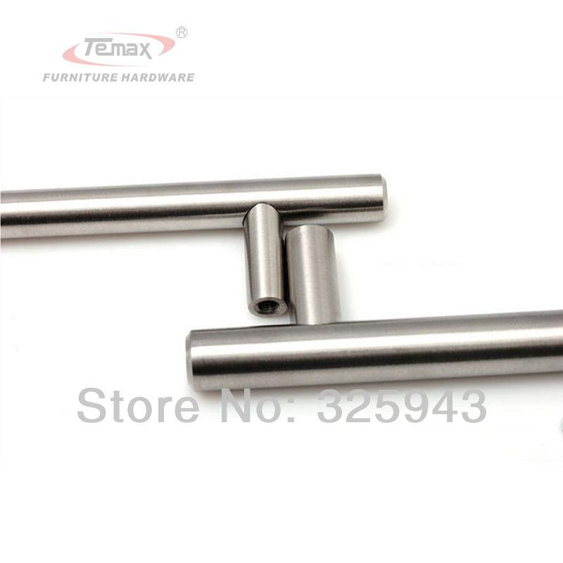 10pcs 96mm stainless steel brushed nickel cabinet knobs and handles kitchen dresser drawer pulls furniture kitchen