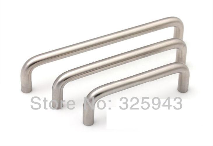 Modern Stainless Steel Kitchen Cabinet Handles Drawer Pulls Cupboard Door Knobs