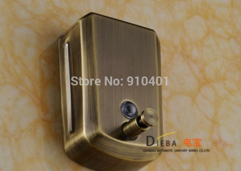 Wholesale And Retail Promotion Antique Bronze Soap Dishpenser Square Bathroom Kitchen Soap