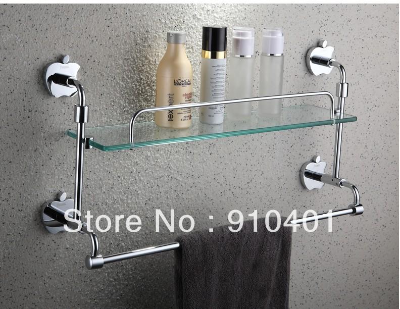 Wholesale And Retail Promotion Chrome Brass Bathroom Corner Shelf ...
