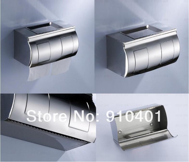 Brand New Luxury Chrome Stainless Steel Bathroom Toliet