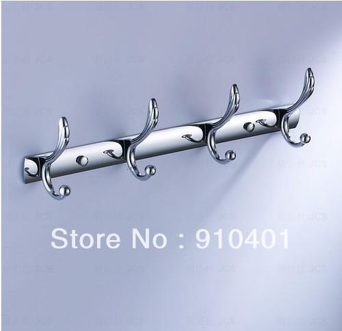 Multi Function Bathroom 15 Quot Wall Mounted Hook Door 4 Hook