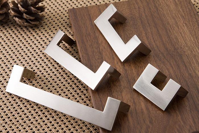 Minimalist Modern Ikea Style Cabinet Drawer Furniture Handle Pull Hardware C C 96mm Length
