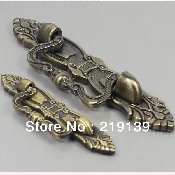 10pcs 96mm zinc alloy classical metal kitchen cabinet pulls knobs drawer handle wardrobe furniture