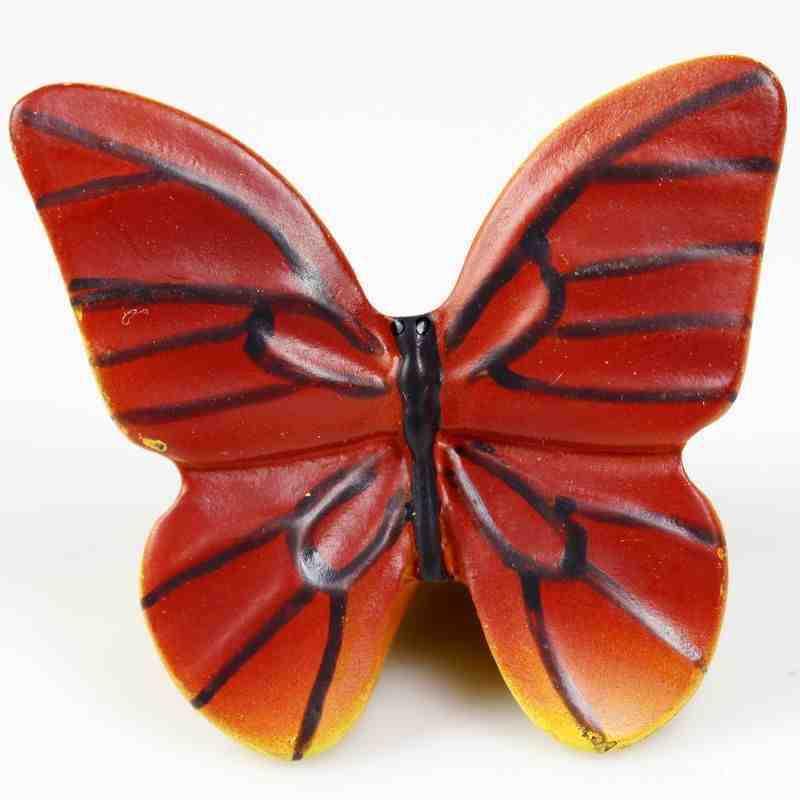 Cute Cartoon Butterfly Kids Cabinet Knobs And Handles Dresser
