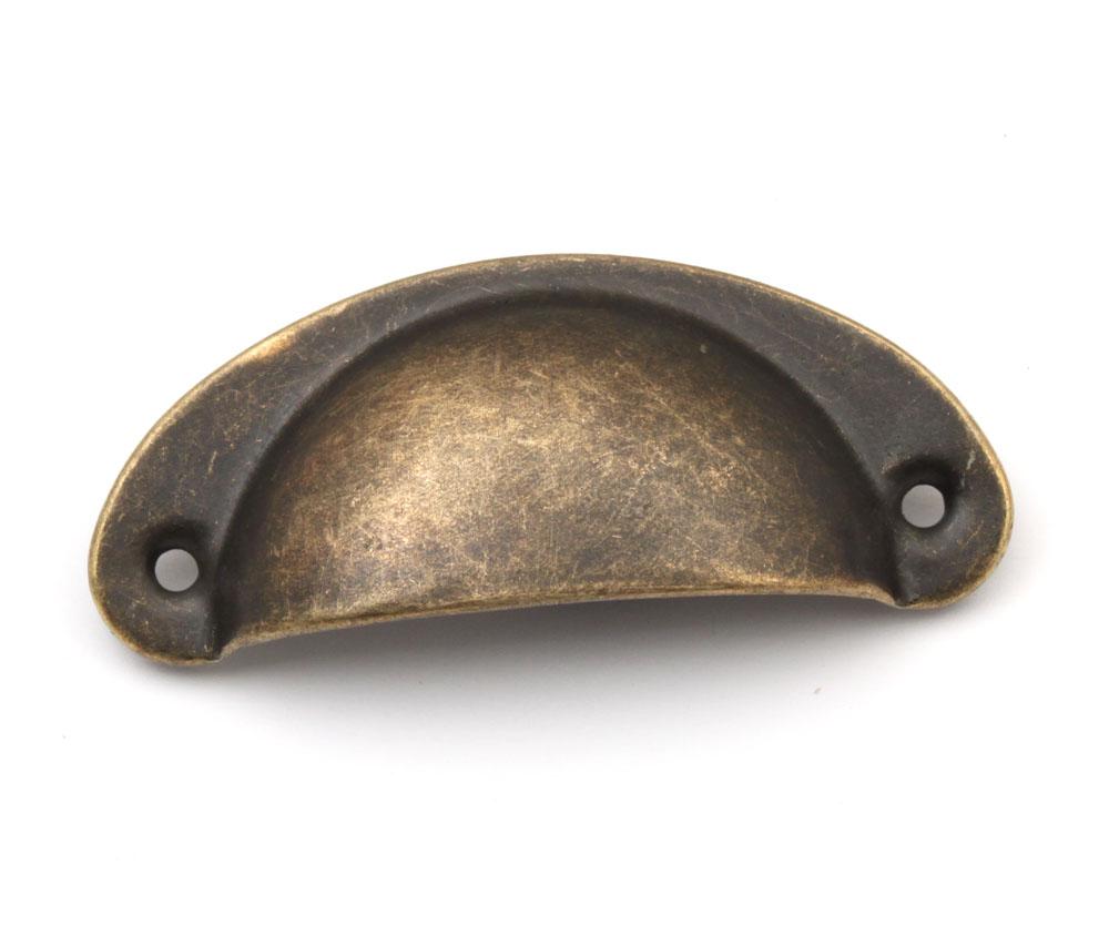 steel vintage Antique Brass kitchen cabinet handles ...